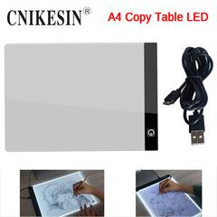 LED Graphic Tablet Writing Painting Light Box Tracing Board Copy Pads Digital Drawing Tablet A4