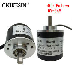 400 Pulses Incremental Optical Rotary Encoder AB Two-phase 5-24V 400 Pulse  Rotary Encoder 400 pulse