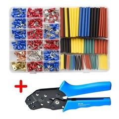 Heat Shrink Tubing 350 PCS Terminals+328 PCS 2:1 Heat Shrink Tube Assorted Connectors Box 350 PCS Terminals+328 PCS 2:1 Heat Shrink Tube