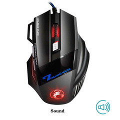 Wired Gaming Mouse 7 Button 5500 DPI LED Optical USB Computer Mouse Gamer Mice X7 Game Mouse a one size