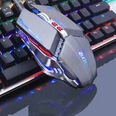 Gaming Mouse Mause DPI Adjustable Computer Optical LED Game Mice Wired USB Games Cable Mouse LOL MM R5 Gray one size