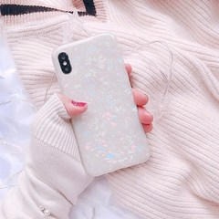 iPhone 7 8 Plus Dream Shell Pattern Cases For iPhone XR XS Max 7 6 6S Plus Soft TPU Silicone Cover 1 SF6