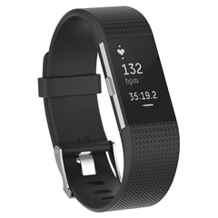 Wristband Wrist Strap Smart Watch Band Strap Soft Watchband Replacement Smartwatch Band For Fitbit black one size