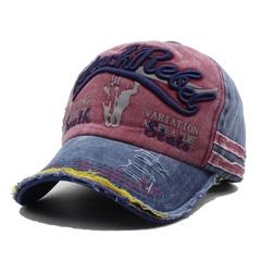 Men Baseball Caps Casquette Women Snapback Caps Bone Hats For Men Fashion Vintage Letter Cotton Cap red
