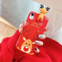 New Elk Apple 6S/7PULS/8/X Christmas Snowman vivoX7/X9SP Raccoon OPPOR9/11/20 1 iphone 7/8