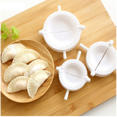 medium and large size Dumpling mold Christmas DIY decoration party supplies kitchen Accessories white one size
