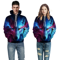 Europe and the United States couples sweater Seiko printing hooded baseball uniform clothing 1 s