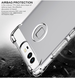 Corners Airbag Full Protective Shock-Proof Case for Huawei P9 Soft TPU Case Full Back Clear Cover transparent huawei p9