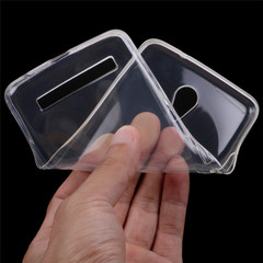1mm Transparent Soft TPU Silicon Clear Case Cover For TECNO W4 WX3 L9 plus PHANTOM8 TECNO Spark/K7 clear For TECNO K7/Spark