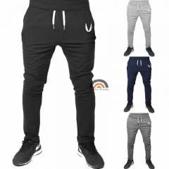 BE Brand 4 Colors 2018 New Man Sports Joggers Men's Pant Fashion Trousers Sweatpants Casual Pant Black 2XL