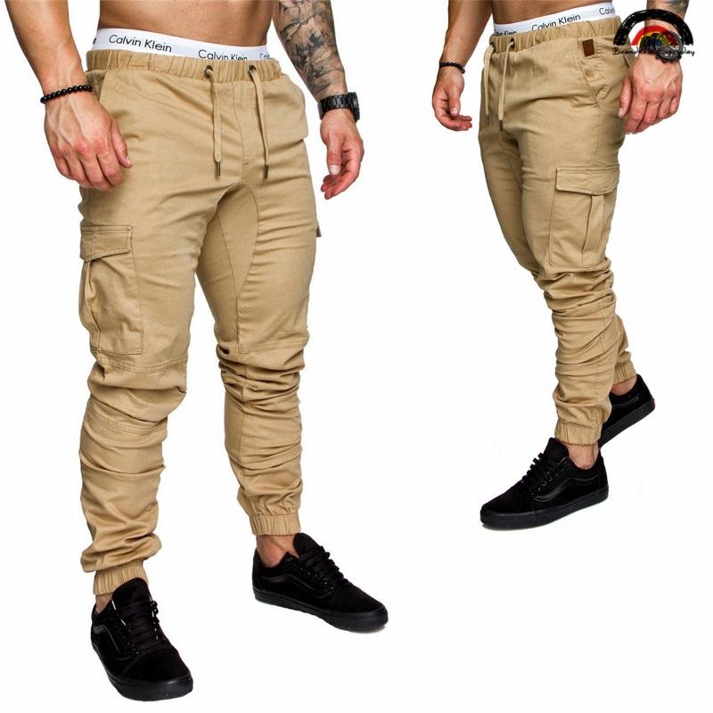 43eb3c84fef 6 Cols Men Pant Hip Hop Harem Joggers Pants Male Trousers Joggers Solid  Multi-pocket Pant Sweatpants khaki 2xl  Product No  2898650. Item  specifics  Brand