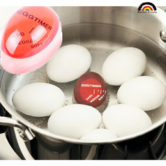 BE Brand Latest Boiled Egg Timer Color Changing Tells When Egg Are Ready Super-Reliable Kitchen Tool 1 PC one size
