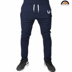 BE Brand 4 Colors 2018 New Man Sports Joggers Men's Pant Fashion Trousers Sweatpants Casual Pant Navy XL