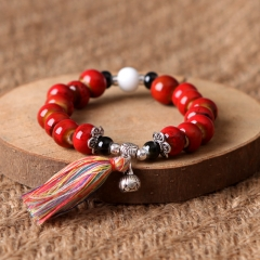 Bracelet  of china!   Hot sale in EURO&US ! Fasion brace lace ! Everyone is different! red perimeter : 18.5cm