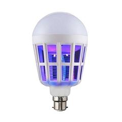 Mosquito Killer Lamp Watt Energy Saving LED Bulb - White white off white