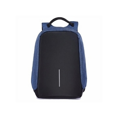 Antitheft Backpack - Blue black Black&Blue
