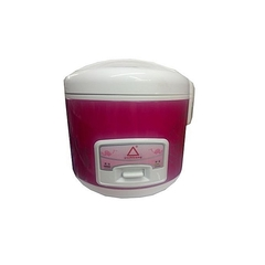 Mini Portable Rice Cooker + Steamer 2Ltrs red and white red&white