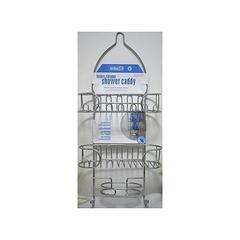 Smart 3 Shelved Stainless Steel Bathroom Organizer Shower Caddy - Silver silver medium