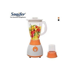 Highly Durable and Sonifer Blender with Grinder - 4 Speed. white medium