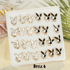 【BNW】Fashion earrings _24 ear studs, super style, hypoallergenic, jewelry set10099 Style 6 One size