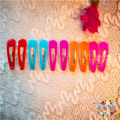 【BNW】Candy color hair clip BB clip solid color hair accessory10111 color mixing 1.2g