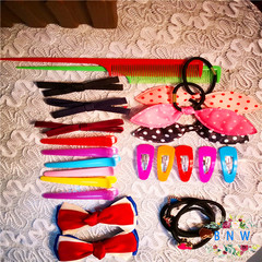 【BNW】25PCS_ fashion hair accessories affordable gift package10120 color 20g