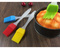 AG Home Silicone Pastry Basting Grill Barbecue Brush Oil Brush Baking Brush Non-stick Heat-Resistant Mixed Color 17*3*1cm