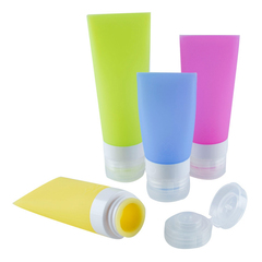 AG HOME Travel Bottles Leakproof Silicone Refillable Travel Containers Squeezable Travel Tube Sets