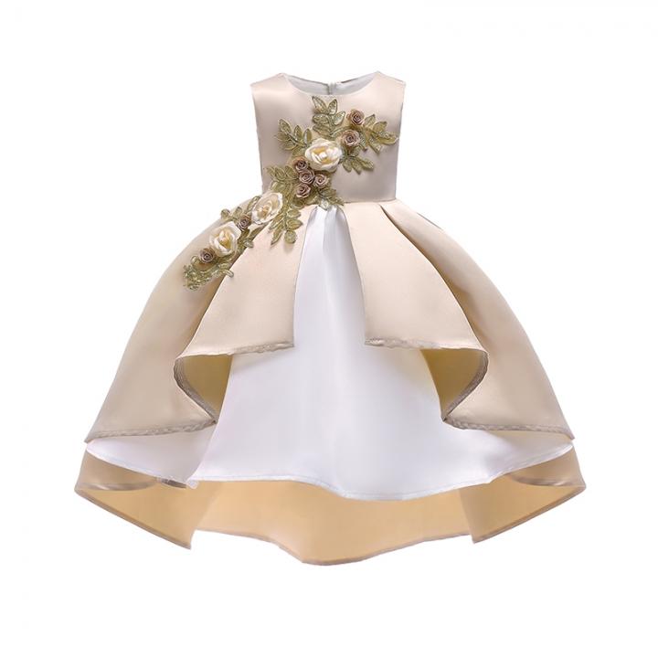 Lucky Life Girl Wedding Flower Girls Dress High End Princess Party