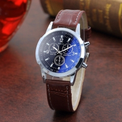 Hot Style Men's Man business watch man quartz watch man watch glass Men's Watch Quartz Watch Men 3 one size