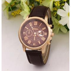 Geneva Classic Luxury Rhinestone Watch Women Watches Fashion Ladies Watch Women's Watches Clock black one size