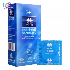 Sweet Dream Life Condoms 100 Pcs/Lot Natural Latex Smooth Lubricated Contraception Natural 100PCS