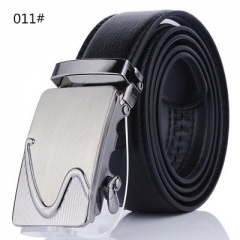 As Seen As On TV Comfort Click Belt Imitation Leather With Steel Black For Men 011 100-135cm