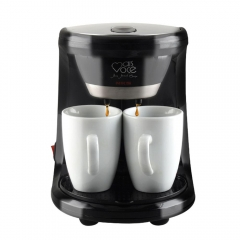 electric automatic hourglass Coffee maker drip Cafe American coffee machine black one size