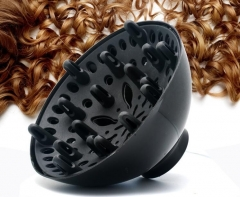 1PCS Universal Hairdressing Salon Hair Dryer Diffuser Curly Hair Blow Blower Tool Wholesale black one size