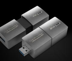 KingstonDTUGT/1TB/2TB Memory Card Hi-Speed USB3.1 1TB/2TB Metal USB Flash Drive silver high speed usb3.1 1tb(1024gb) flash drive