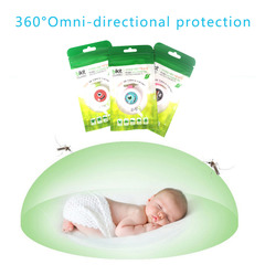 Child Mosquito Repellent Bracelet Stickers Baby Pregnant Anti Mosquito Pest Control As picture 10PCS