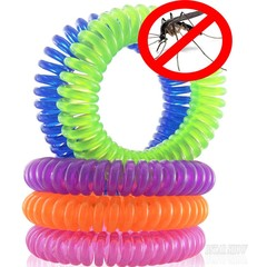 Mosquito Repellent Bracelets 10pcs/Pack Pest Control Repeller up to 240Hours of Insect Protection random 10pcs