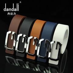 High Quality Luxury Cow Genuine Fashion Men`s Belts Strap coffee 95-115cm