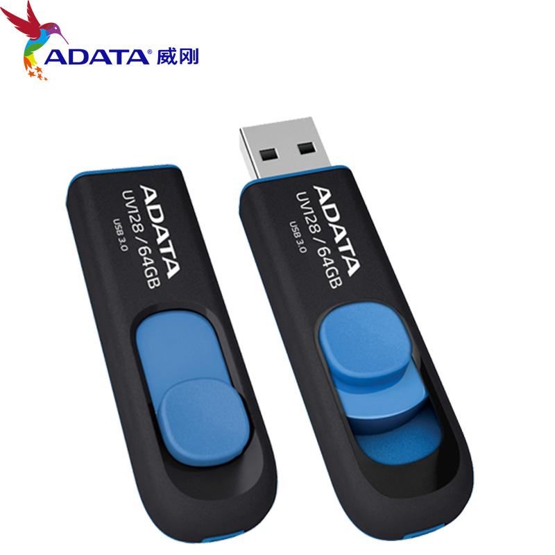 Brand ADATA UV128 Flash Drive 64GB 32GB 16GB Memory Stick USB3.0 Pen Drive Disk Mini U Disk as the picture usb3.0 64gb flash drive @ Kilimall Kenya