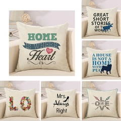 Cushion Cover Linen Cotton Soft Cute Cushion Covers Decorative 3 one size