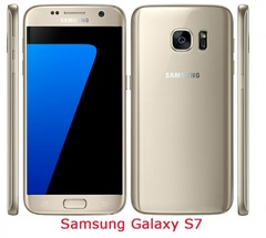 Refurbished Samsung Galaxy S7 4+32GB Mobile Phone  Octa-core 12MP  dual Sim 4G LTE Cell Phone gold 4+32g single sim