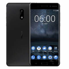 "Refurbished phone Nokia 6 – 5.5"" - 64 GB ROM – 3.5GB RAM – 16MP+8MP Camera – Dual SIM Smartphone black"