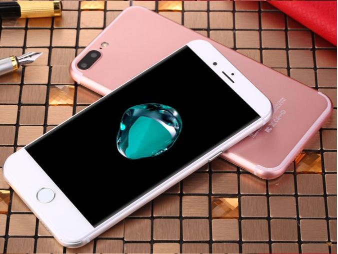 Brand new original 4GB+32GB Dual Core 16mp +8mp 7S Smartphone 5.5 Inch+4G network black 1