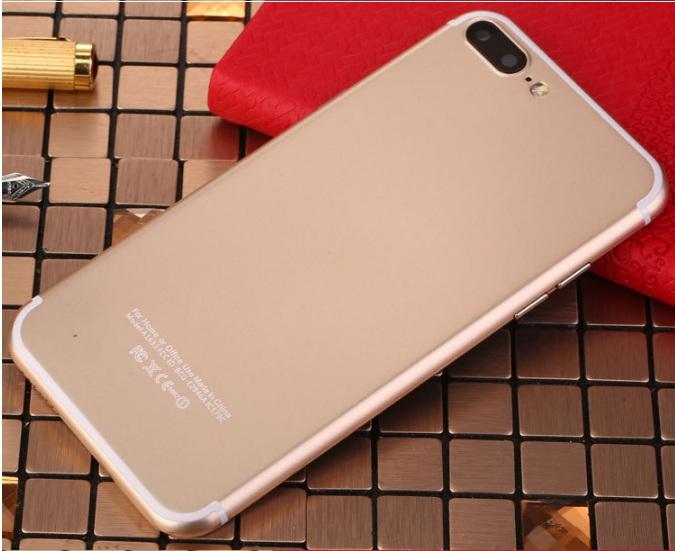 Brand new original 4GB+32GB Dual Core 16mp +8mp 7S Smartphone 5.5 Inch+4G network black 5