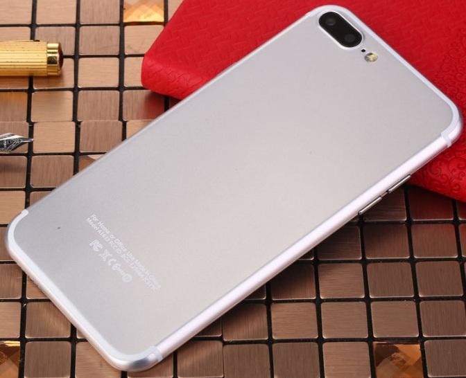 Brand new original 4GB+32GB Dual Core  7S Smartphone 5.5 Inch+4G network white