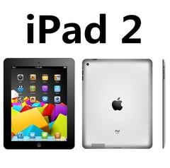 ipad 2 9.7 inch 16G /32G /64G optiponal wifi tablet original refurblished 90% new apple ipad2 white(16G+wifi only)