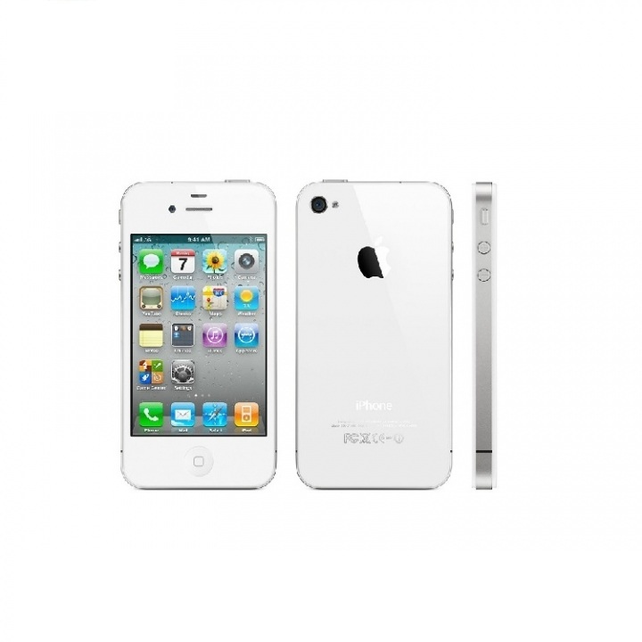 Refurbished flash iphone 4 8GB/16GB+512MB 3.5 inch unlocked   iphone4 5MP 8g mobile phone white 8g