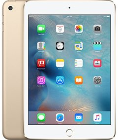 Certified 99% Refurbished ipad mini 4 with Fingerprint 7.9inches good battery almost new white(16g+wifi only)