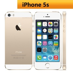 Refurbished Unlocked Apple iPhone 5S Mobile Phone 16GB+1GB  without fingerprint iphone5s 8MP black